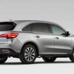 2016 acura mdx cargo space. Black Bedroom Furniture Sets. Home Design Ideas