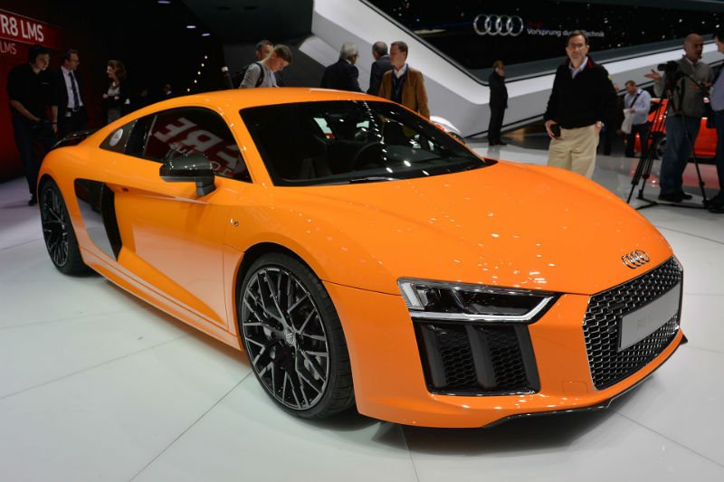 2016 Audi R8 V10 Plus 0 60