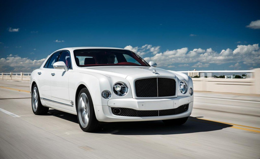 2016 Bentley Mulsanne White