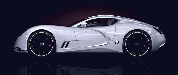 2016 Bugatti Chiron White