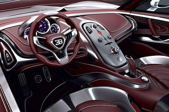 2016 Bugatti Veyron Interior