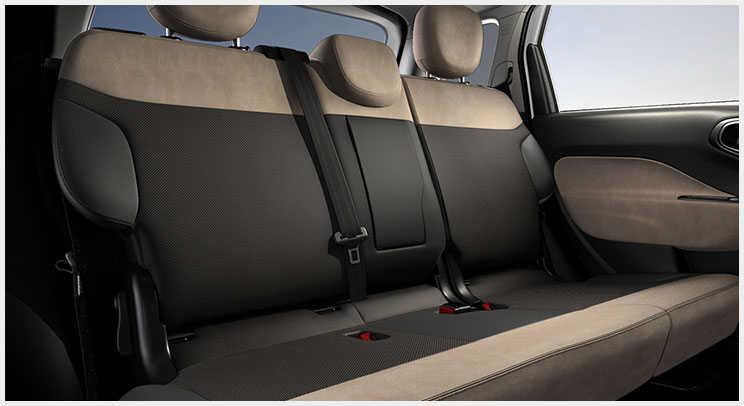 2016 Fiat 500L Cloth-Trim Seats