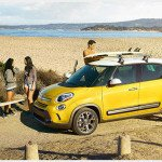 2016 Fiat 500L Giallo Yellow Color