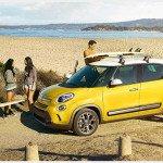 2016 Fiat 500L Giallo Yellow Color