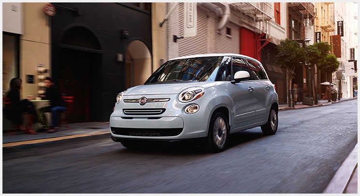 2016 Fiat 500L Non Metallic and Pearl Finishes