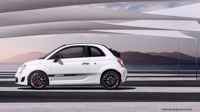 2016 Fiat Abarth Aluminum Wheels