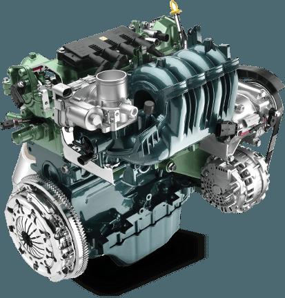 2016 Fiat Punto Engine