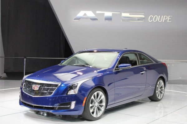 2015 Cadillac ATS Coupe Model