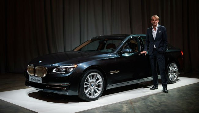 2016 BMW 7 Series Black Model