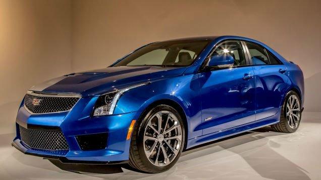 2016 Cadillac ATS V Sedan