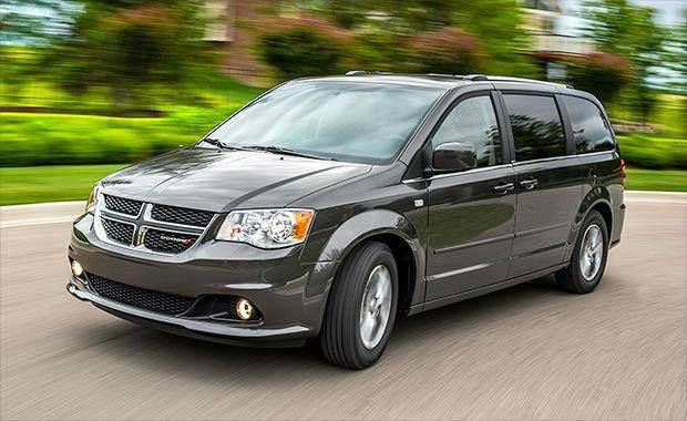 2016 Dodge Caravan (Black Color)