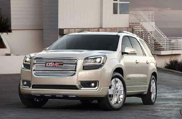 2016 gmc acadia changes. Black Bedroom Furniture Sets. Home Design Ideas