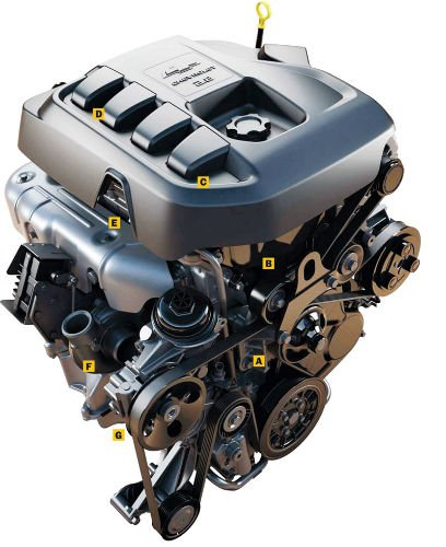 2016 GMC Canyon Diesel Engine