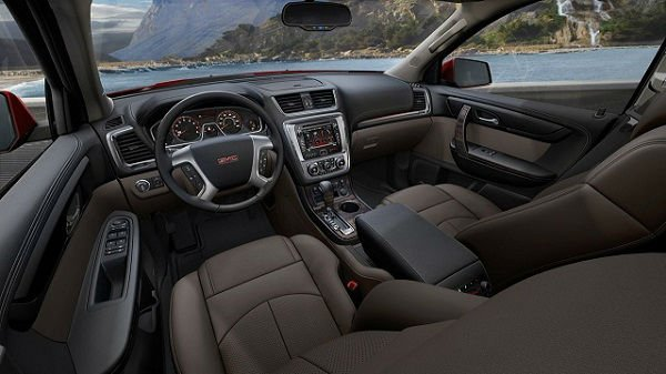 Gmc Terrain Denali >> 2016 GMC Canyon Interior