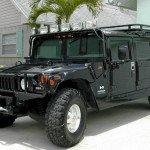 2016 Hummer H1 Black