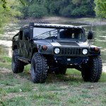 2016 Hummer H1 Black Exterior