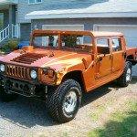 2016 Hummer H1 Orange