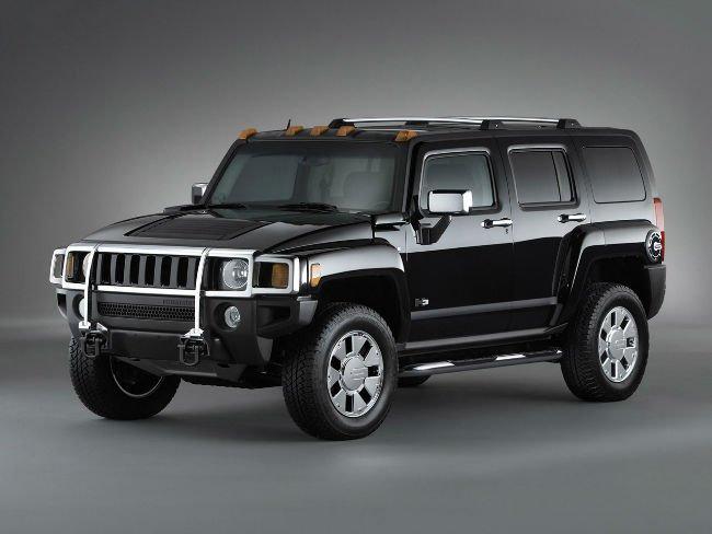 Hummer H3 Black 20s