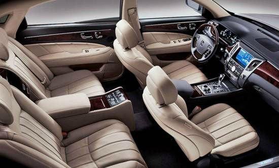 2016 Hyundai Equus Inside