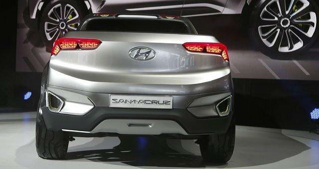 2016 Hyundai Santa Cruz Exterior