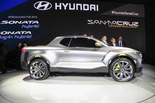 2016 Hyundai Santa Cruz Model