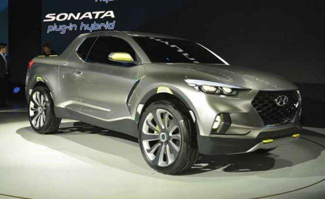 2016 Hyundai Santa Cruz Pick Up