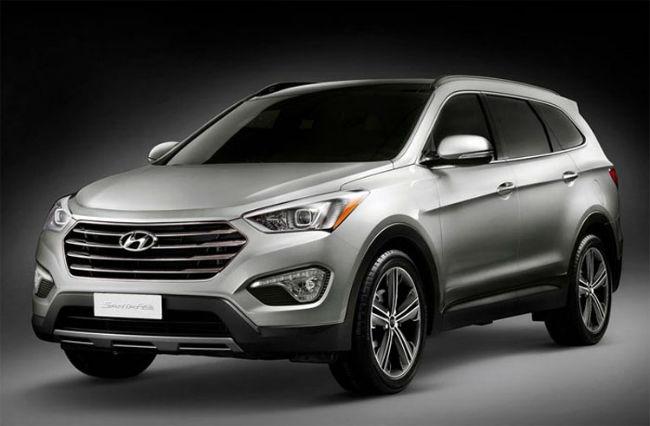 2016 Hyundai Santa Fe changes