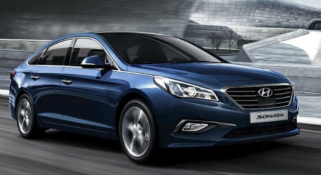 2016 Hyundai Sonata Blue