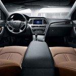 2016 Hyundai Sonata Hybrid Interior
