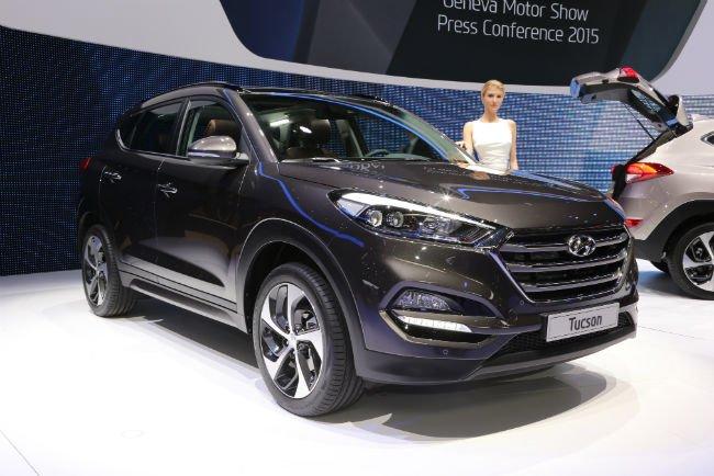 2016 Hyundai Tucson Black (Model)