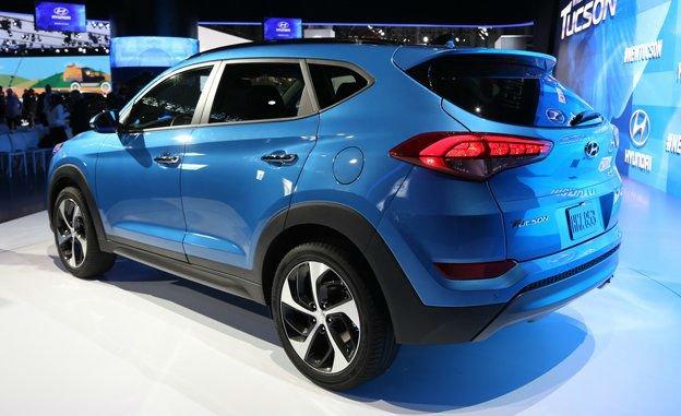 2016 Hyundai Tucson Colors