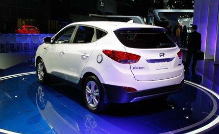 2016 Hyundai Tucson Fuel Cell Exterior