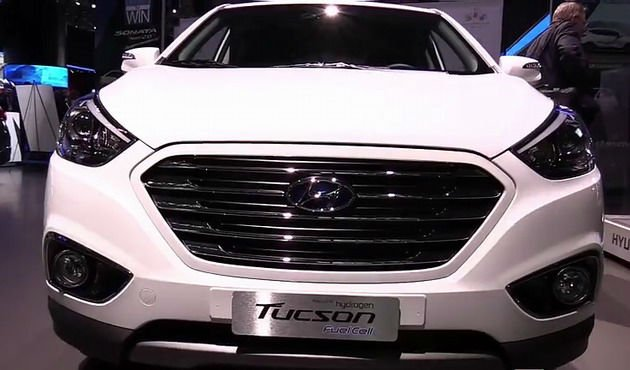 2016 Hyundai Tucson Fuel Cell Facelift