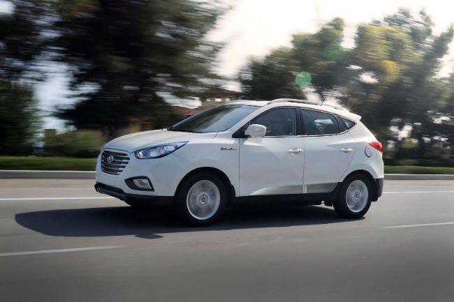 2016 Hyundai Tucson Fuel Cell MPG