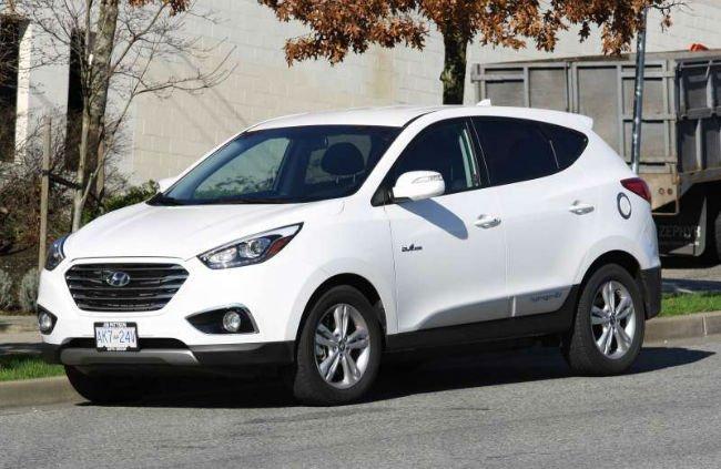 2016 Hyundai Tucson Fuel Cell Model