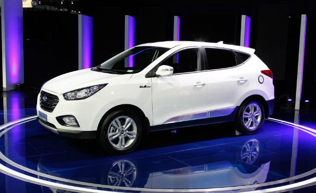 2016 Hyundai Tucson Fuel Cell Release