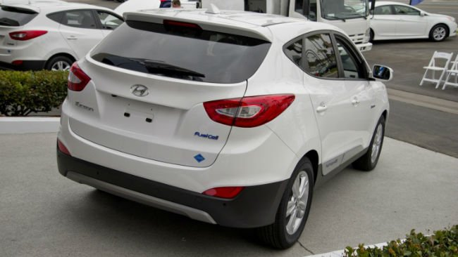 2016 Hyundai Tucson Fuel Cell Taillights
