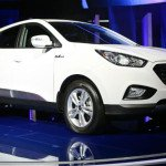 2016 Hyundai Tucson Fuel Cell White