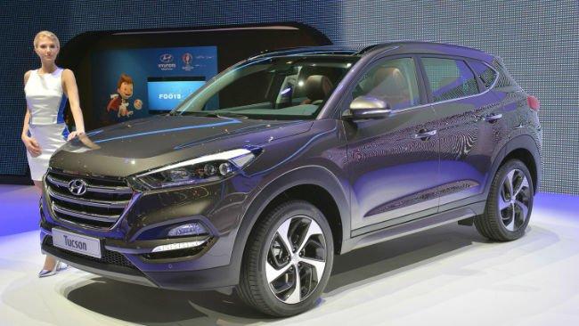 2016 Hyundai Tucson Model