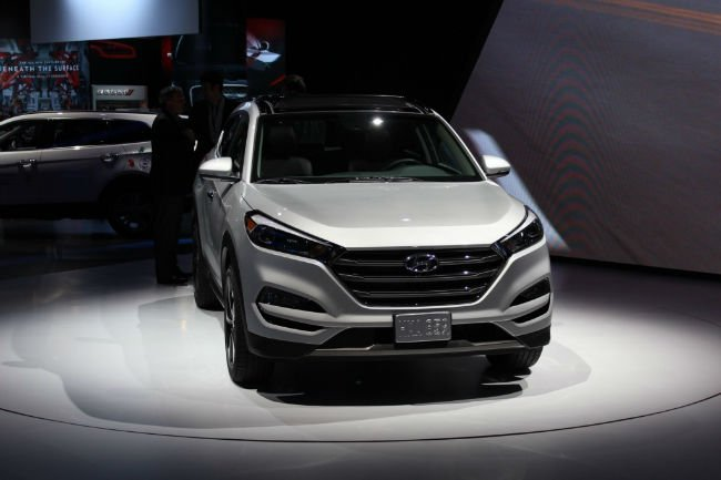 2016 Hyundai Tucson Spy Shots