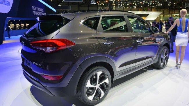 2016 Hyundai Tucson black