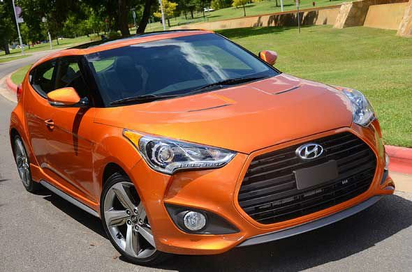 2016 Hyundai Veloster Turbo Car