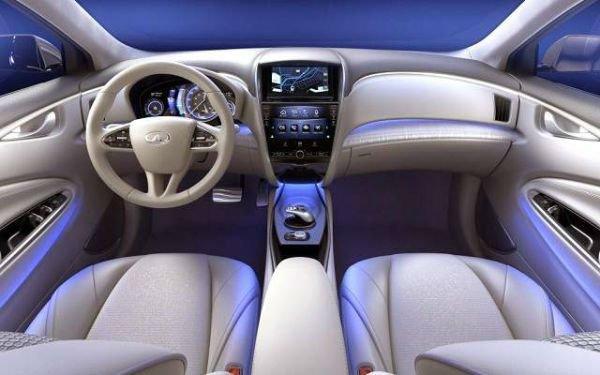 2016 Infiniti Q60 Interior