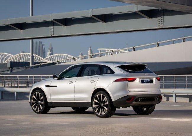 2016 Jaguar F Pace SUV Hybrid