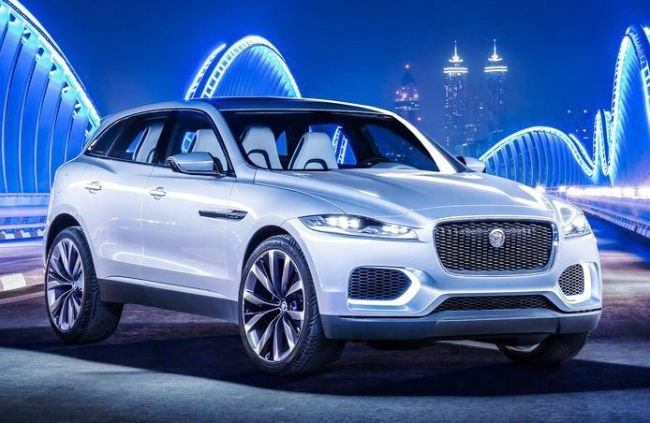 2016 Jaguar F-Pace Wallpaper