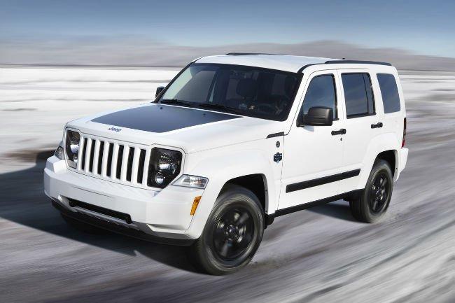 2016 Jeep Liberty Exterior