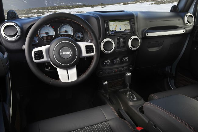 2016 Jeep Liberty Interior