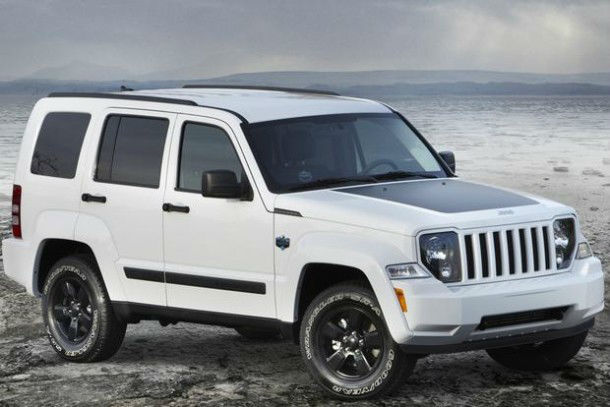 2016 Jeep Liberty White