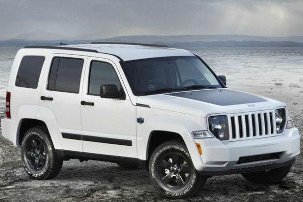2016 Jeep Liberty White