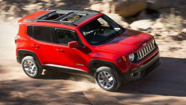 2016 Jeep Renegade Colors